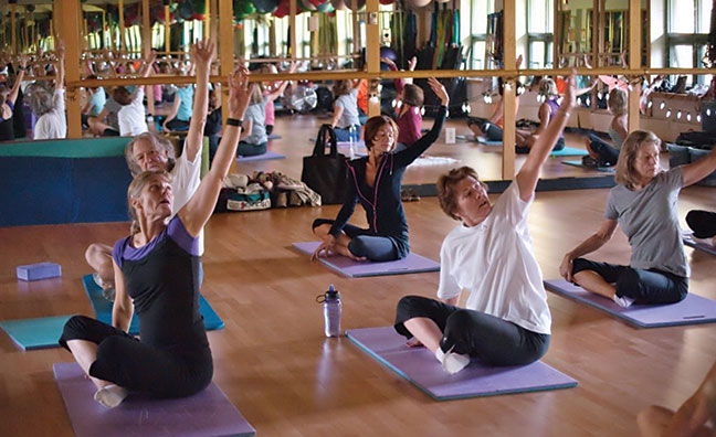 Group fitness classes are a great way to get into shape for ski season. Photo courtesy Incline Village Recreation Center.