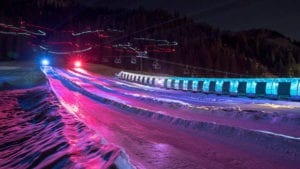 Disco Tubing With Santa @ Squaw Valley