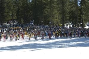 The Great Ski Race @ Tahoe Cross Country