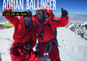 Alpenglow Winter Speaker Series: Adrian Ballinger @ Olympic Village Lodge | Tahoe City | California | United States
