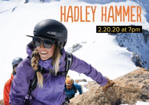 Alpenglow Winter Speaking Series: Hadley Hammer @ Olympic Village Lodge